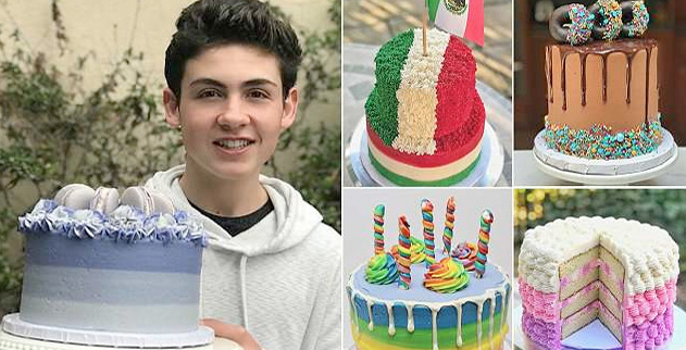 14 Year Old Bay Area Boy Is A Viral Cake Baking Sensation
