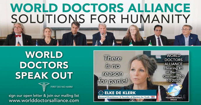 "World Doctors Alliance – ""We see no evidence of a medical pandemic"" 